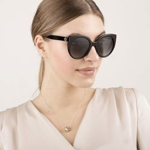 New Sunglasses GUCCI GG0325S 008 Cat Eye Eyewear